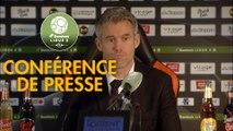 Conférence de presse FC Lorient - Stade Brestois 29 (4-2) : Mickaël LANDREAU (FCL) - Jean-Marc FURLAN (BREST) - 2017/2018