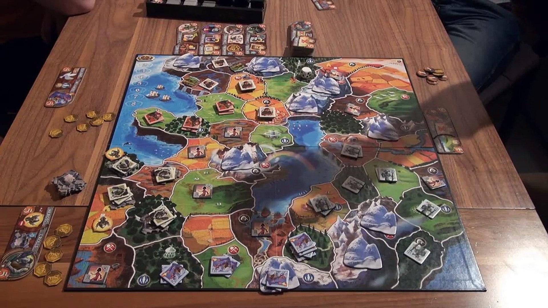 Играем на столе Small World (Маленький Мир) ч.2 с Братцем Ву
