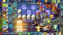 Plants vs Zombies 2 Epic Hack : The Rotabaga Fireballs vs Each Freakin Zombots