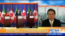 """""""Hay incertidumbre con respecto a las negociaciones con Estados Unidos y Canadá (TLCAN)"""": Alfredo Coutiño, director de Moodys Analytics, sobre la economía de México"""