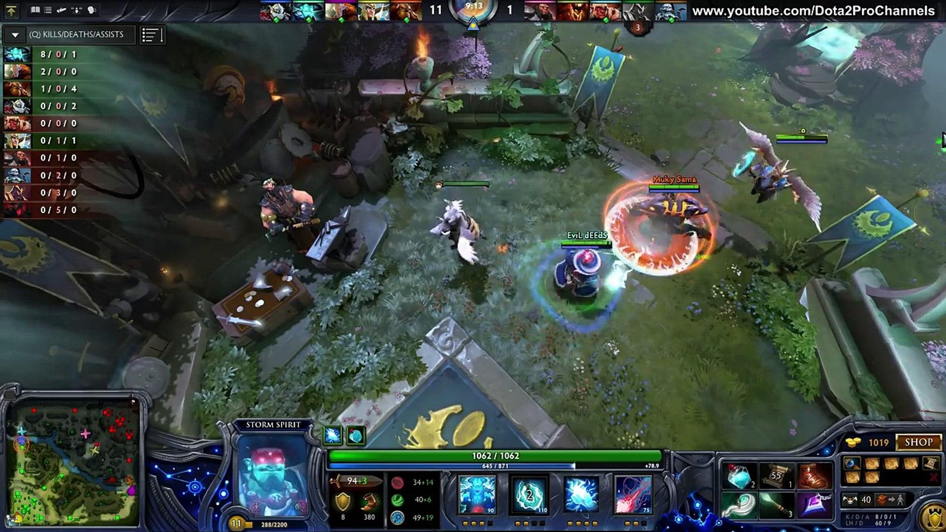 SumaiL (EG) - Storm Spirit Pro Gameplay | 20-0 | Mid MMR [Dota 2 Pro] #2