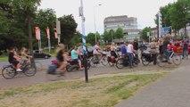 Elles ont trouvé la solution pour discipliner les cyclistes aux Pays-Bas... Brillant