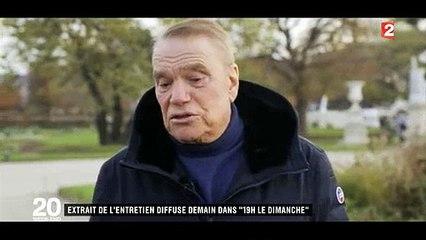 Les premières images de l'interview de Bernard Tapie à Laurent Delahousse qui parle de son combat contre le cancer