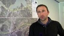 L'interview d'Éric Perez, conducteur des travaux sur le chantier de la RD9.