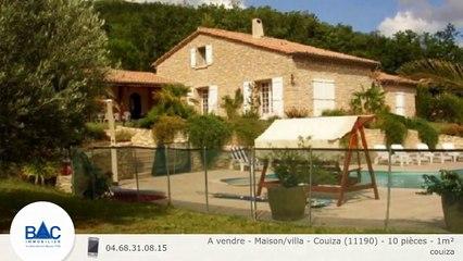 A vendre - Maison/villa - Couiza (11190) - 10 pièces - 1m²