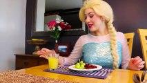 Frozen Elsa MORNING ROUTINE w_ Spiderman Belle Maleficent Makeup Challenge Superhero in real life | Superheroes | Spiderman | Superman | Frozen Elsa | Joker