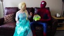 Frozen Elsa SUPER WUBBLE BUBBLE w_ Spiderman Joker Maleficent Spidergirl Fun Superhero in real life | Superheroes | Spiderman | Superman | Frozen Elsa | Joker