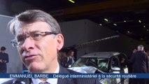 Sécurité routière : un crash test pour sensibiliser au port de la ceinture (vidéo)