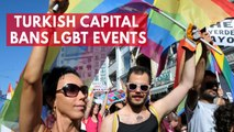 Turkish capital bans all LGBT events to keep 'public order'