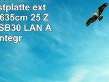 FANTEC MWiD25 Mobile WLAN Festplatte extern 500GB 635cm 25 Zoll WLAN USB30 LAN Akku