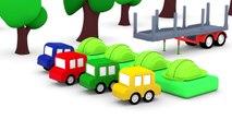 Cartoon Cars - FASTEST Wood Chopper - Children's Cartoons - Childrens Animation Videos for kids-ttcjTLSuwB4