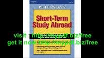 Short Term Study Programs Abroad 2006 (Peterson's Short-Term Study Abroad Programs)
