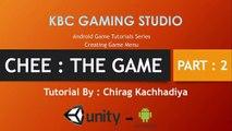 Unity 3D Android Game Tutorials Part 2 : Creating Game Menu