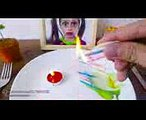 EATING FIRE with Bad Baby Annabelle!!! Kluna Tik Dinner #108  ASMR eating sounds no talk