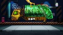 Evil Dump Truck | Good Vs Evil | Evil To Good Transformation | Car Garage Videos For Kids