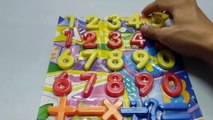 Learn Numbers and Shapes with CLOCK toys Numbers and Shapes for Toddlers Kids Children