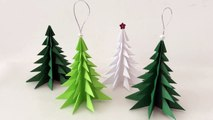 DIY Paper Christmas tree | Christmas Decorations | How to Make Paper Christmas tree | Christmas Ornament
