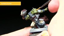 Games Workshop Tutorial: How To Paint Blood Bowl Gouged Eye Orcs