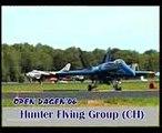 2x Hawker Hunter Mk.58 + T.Mk.68 - Hunter Flying Group Switzerland