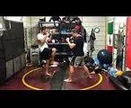Adam Soul Horse Song Advanced MMA Kicking Combo 76