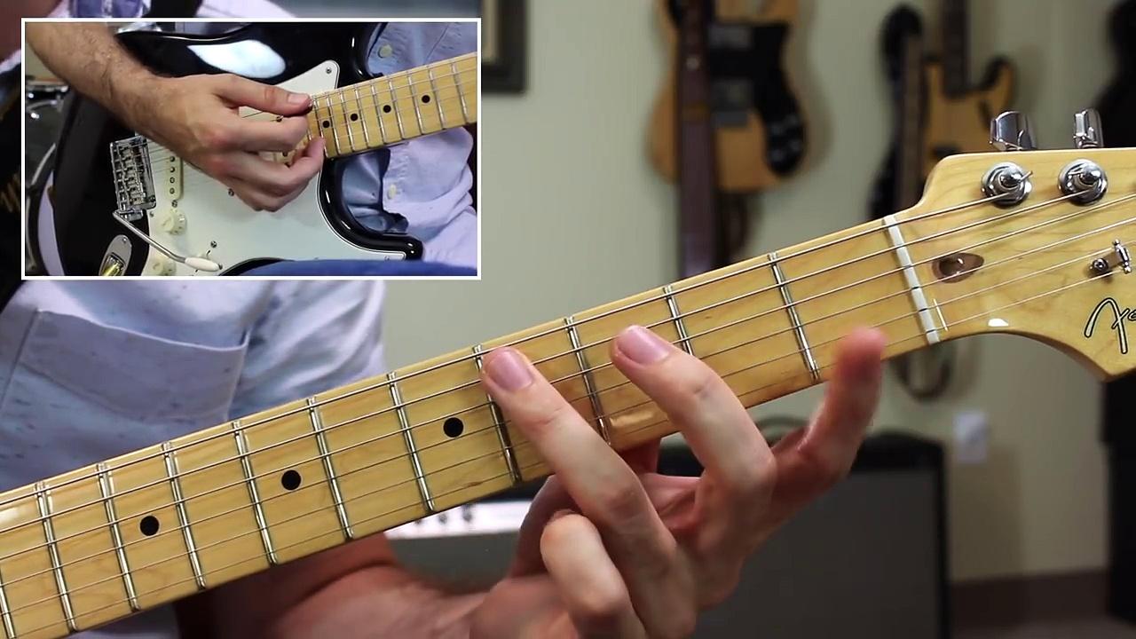 Easy SRV Style Blues Guitar Tricks – Shuffle Rhythm, Lick of the Week