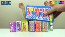 Learn Colors with Colored Chocolate and Learn Numbers with Surprise Eggs for Chi