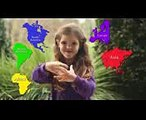 7 Continents Song  Song about the 7 Continents  Preschool Songs  Kids Songs  Nursery Rhymes