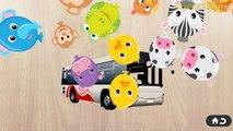 Police car,ambulance,Fire trucks - Cars Puzzles - Машинки пазлы: полицейская машина, скорая помощь