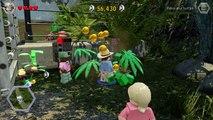 LEGO Jurassic World Walkthrough Part 2: Welcome to Jurassic Park! (Jurassic Park)