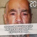 Le tueur psychopathe Charles Manson est mort