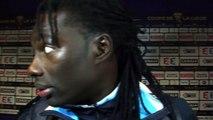 Bafé Gomis revient sur sa blessure contre Sochaux
