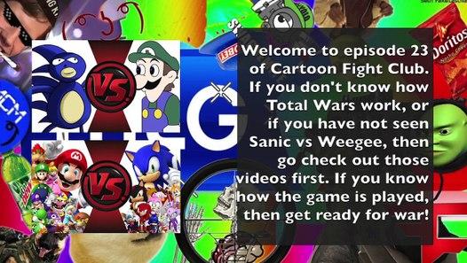 Cuphead vs Mario! Cartoon Fight Night Episode 49! - Full