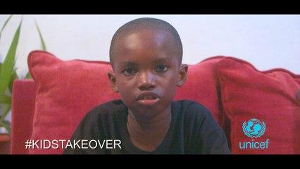 LE DIVAN NUMERIQUE - DAVID #KidsTakeOver #Unicef