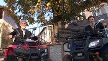 İhtiyar Delikanlıların ATV Keyfi Gençlere Taş Çıkarıyor
