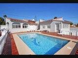 Recherche villa maison Espagne avec piscine - Calpe : Maison principal et appartement d'invité : Quartier calme