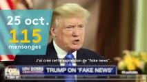 """Obamacare, """"fake news""""... Voici le compteur des mensonges de Donald Trump depuis son investiture"""
