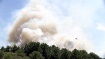 Les premières images du feu du Vallon de Cavalas