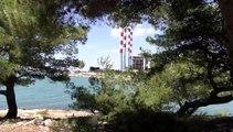 Démolition de deux bacs dans la centrale EDF de Ponteau