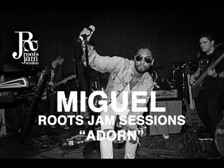 """Miguel """"Adorn"""" Live at Roots Jam Session 2015"""