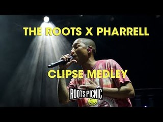 The Roots X Pharrell: Clipse Medley at Roots Picnic 2017