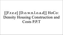 [cC4gD.[FREE] [DOWNLOAD]] HoCo: Density Housing Construction and Costs by Aurora Fern?ndez Per, Javier Mozas, Javier Arpa R.A.R