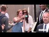 Alex Morgan outside Jimmy Kimmel live!