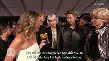 [Vietsub] 171120 BTS - ET Interview @ AMAs [BTS Team]