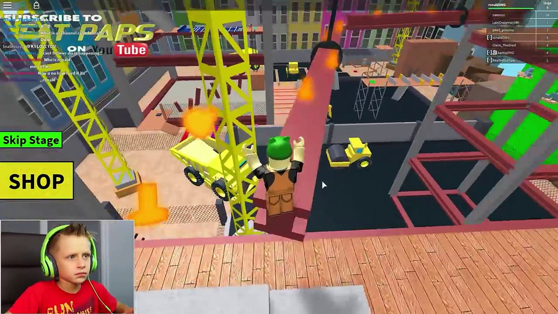 Escape The Construction Yard Obby Roblox Video Dailymotion