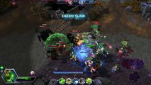 Heroes of the Storm - Ranked Murky Gameplay - Haunted Mines