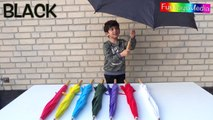 Learn Colors with Umbrellas for Babies, Toddlers and Preschool Kids _ Fun Kid Learns Colours-ayc_g58Wd_A