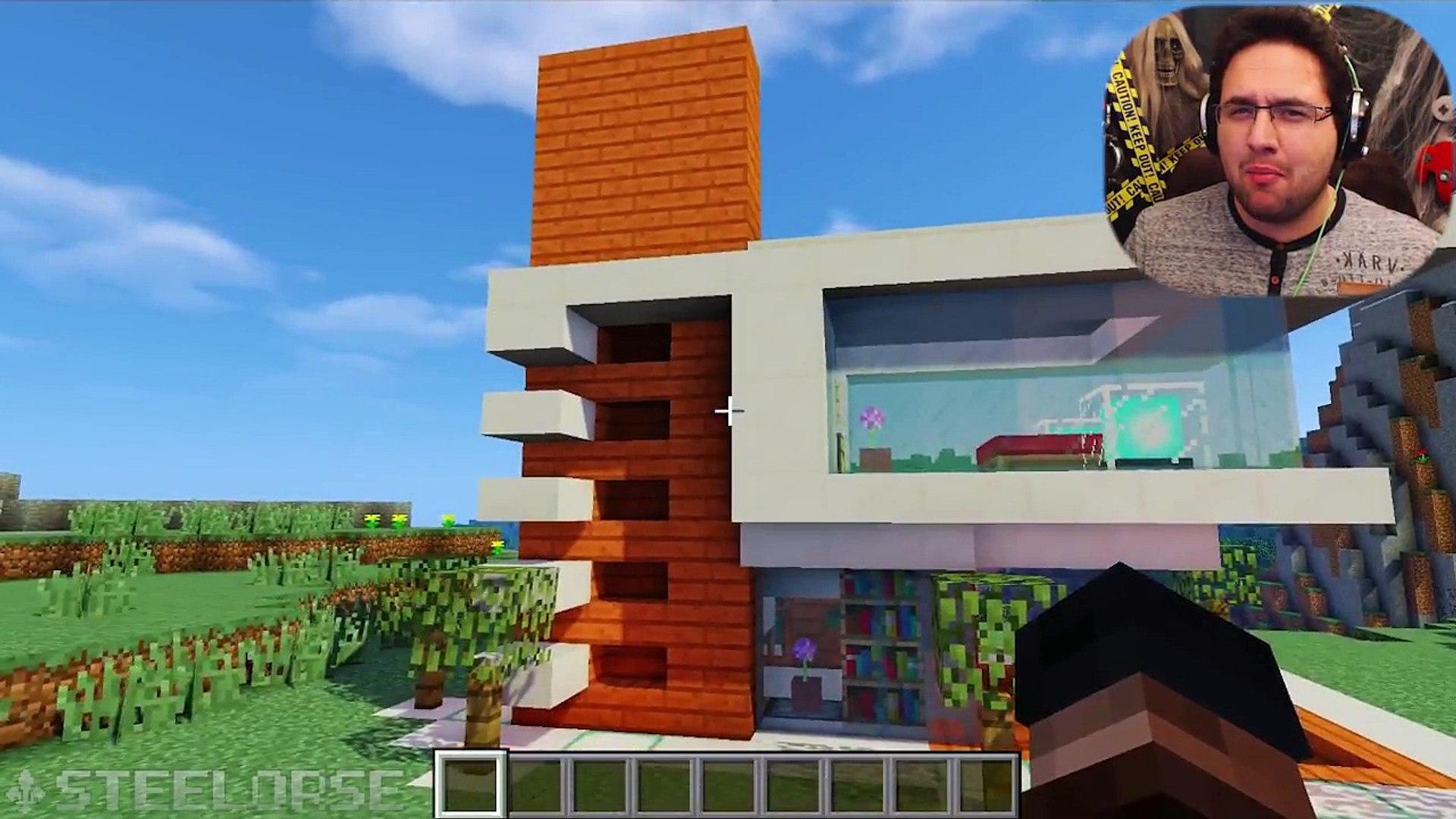 Tuto Belle Maison Moderne Minecraft Video Dailymotion