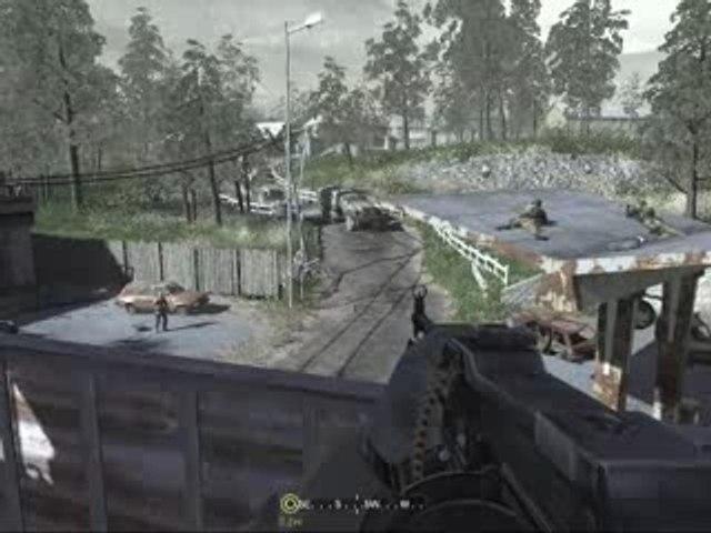 Call of Duty 4 Embuscade