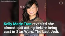 The Last Jedi's Kelly Marie Tran Almost Quit Acting