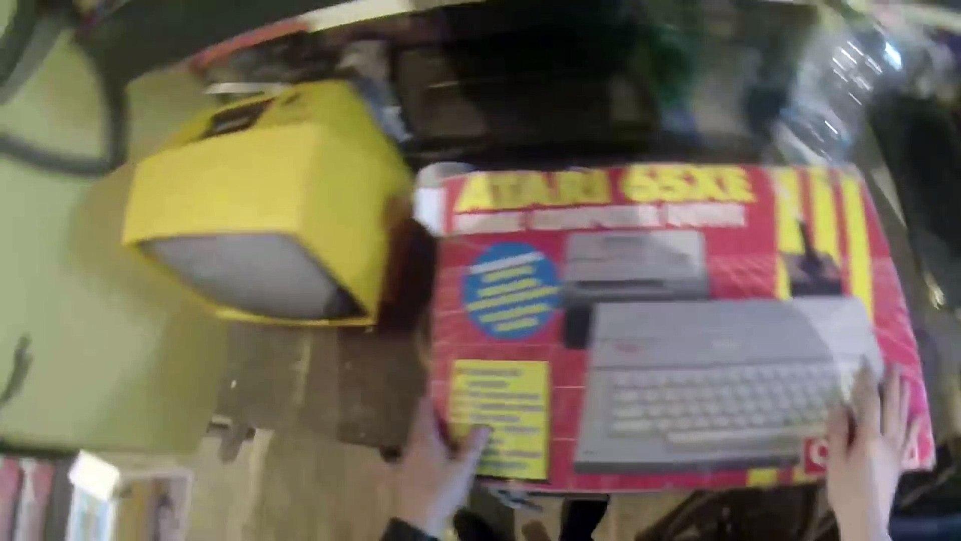 Piwnica ze skarbami cz1. Stary Komputer, Commodore 64, Atari 65xe, Amiga, Atari ST, ZX Spectrum